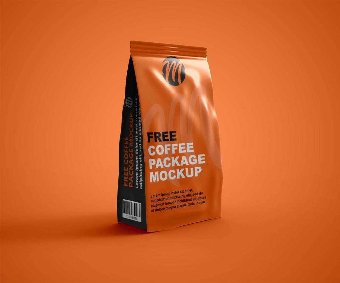 Download Free Coffee Package mockup Mockuphut Exclusive - Mockup Hut