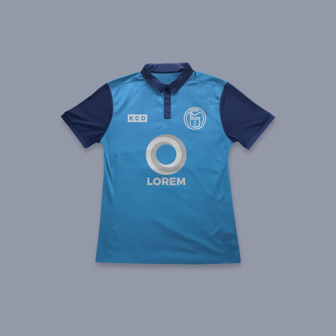 Download Soccer Jersey Team Logo Mockup | Mockup Index