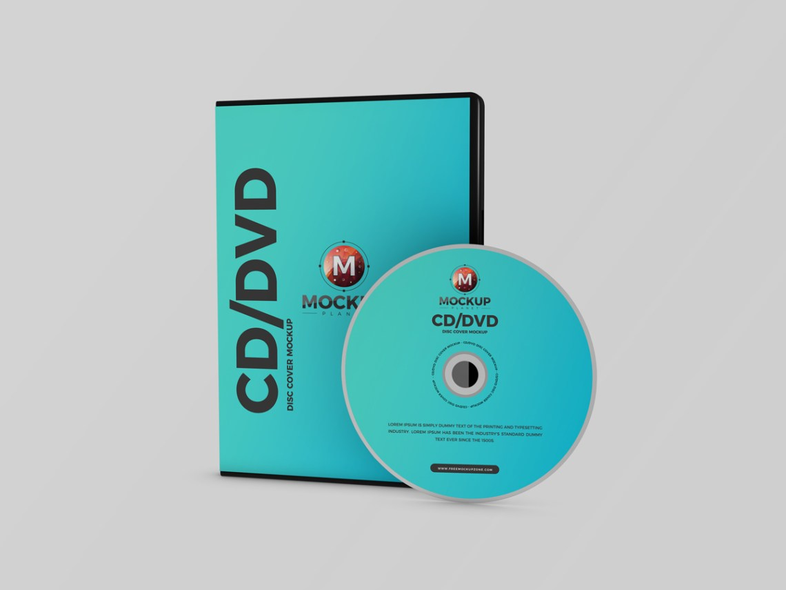 Download Free Premium Branding CD DVD Disc Cover Mockup PSD 2018 ...