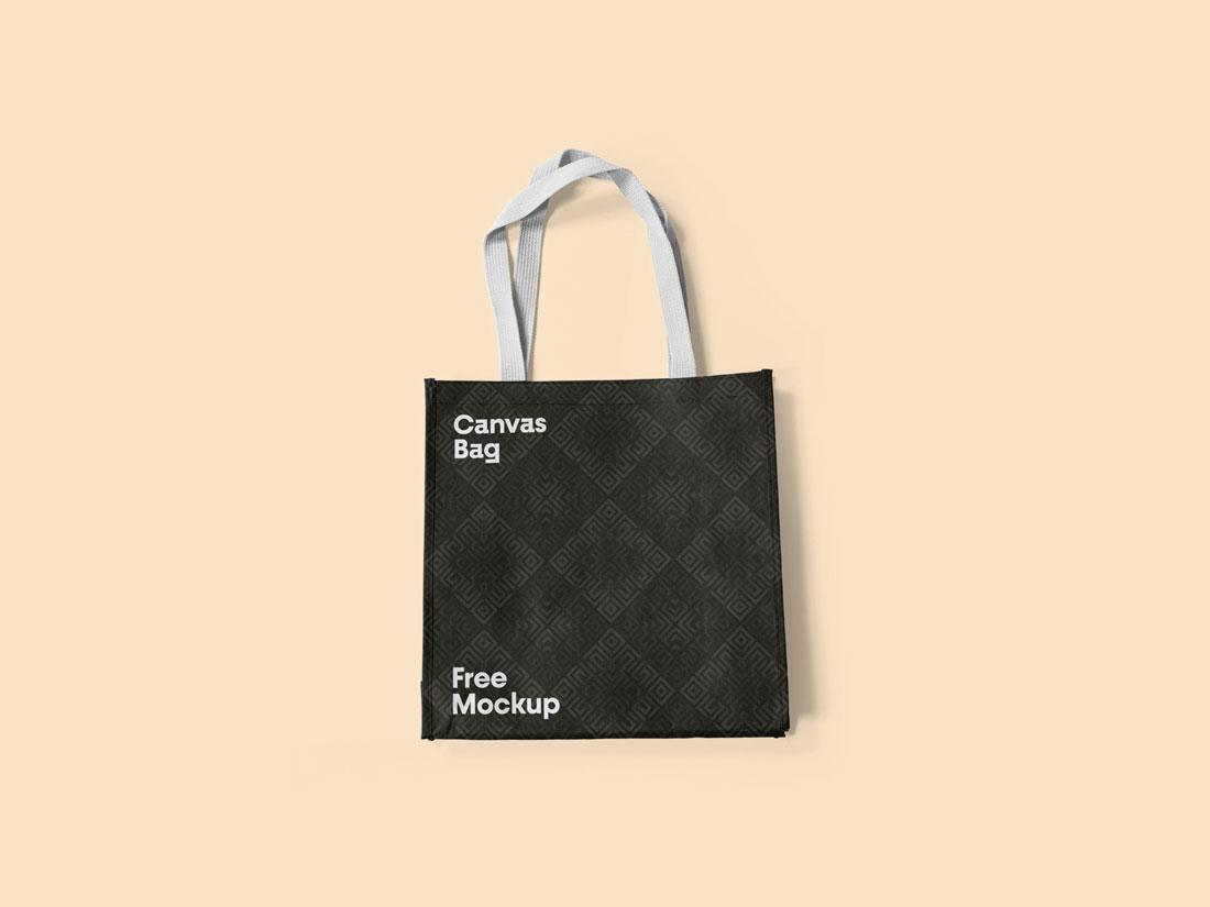 Download Packaging Canvas Bag Mockup - Mockup River