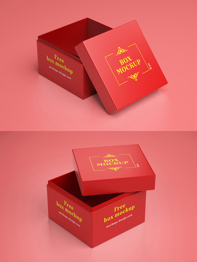 Download Free Gift Box Mockup - Find the Perfect Creative Mockups ...