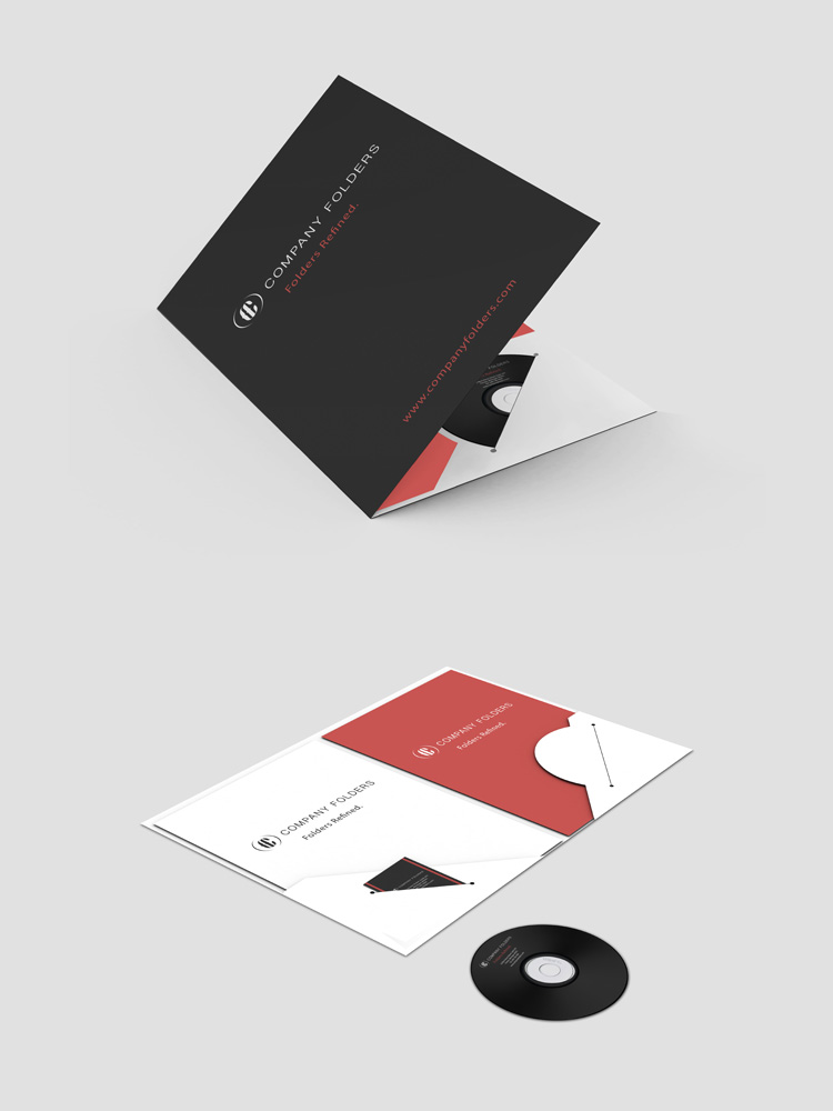 Download Free A4 Pocket Folder Mockup - Find the Perfect Creative ...