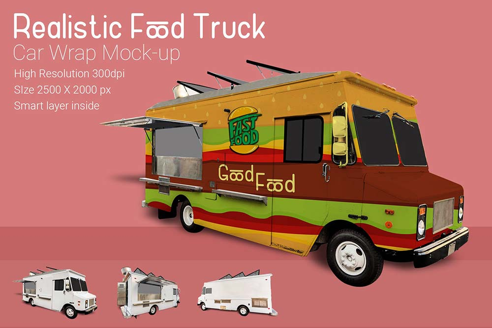 Download 15+ Realistic Truck Mockup PSD Templates | Mockuptree