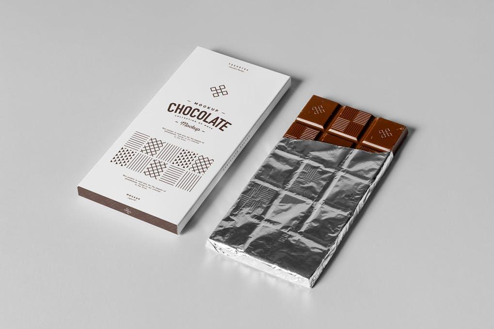 Download 25+ Elegant Chocolate Bar Mockup PSD Templates | Mockuptree