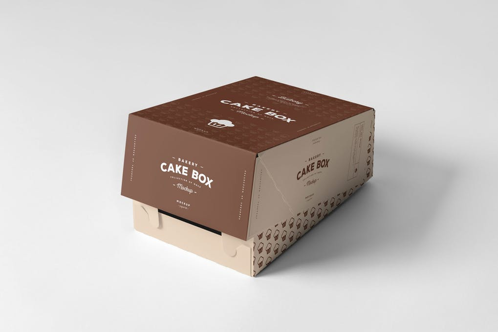 Download Cake Box Mock-up