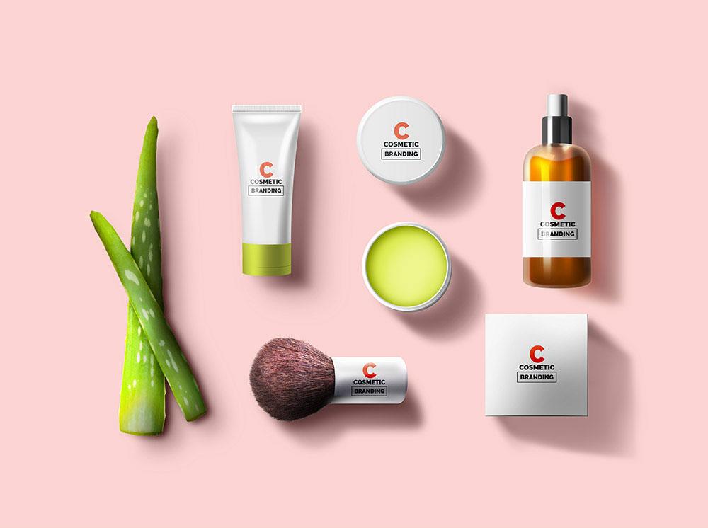 Download Free Cosmetic Mockup | Mockuptree