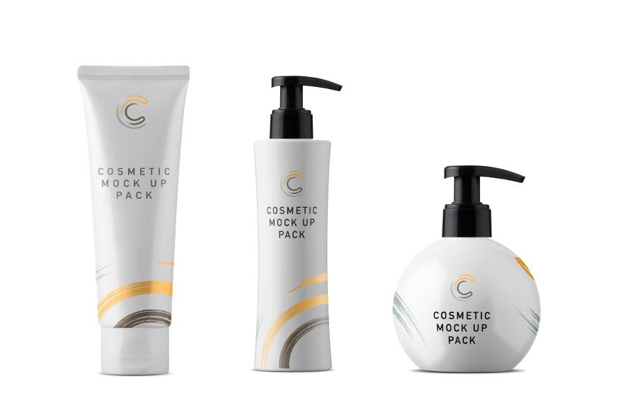 Download Free Cosmetic Packaging Mockups | Mockuptree