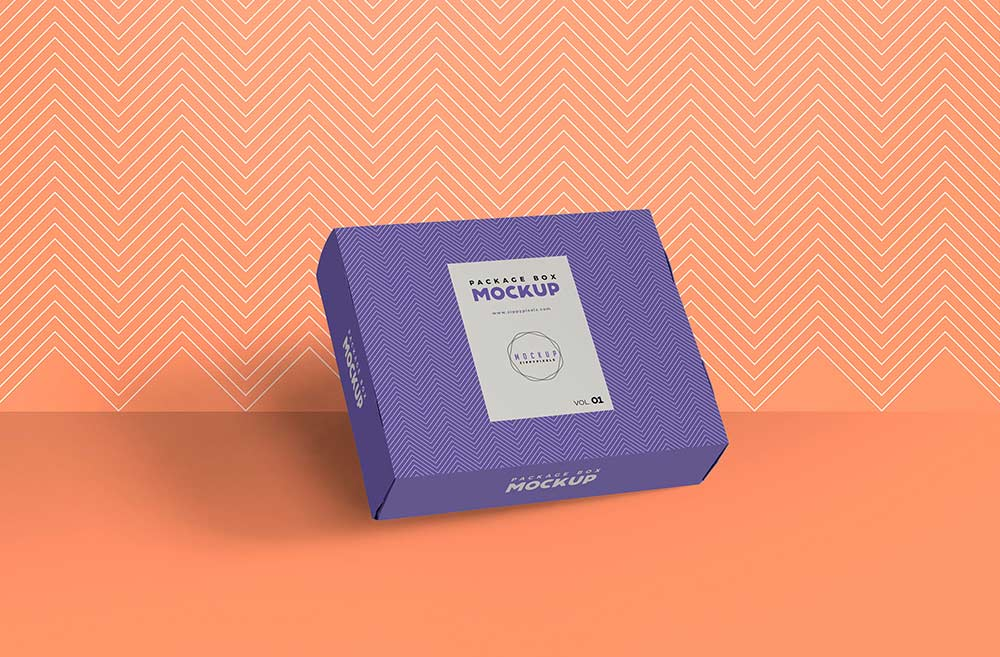 Download Free Box Packaging Mockup | Mockuptree