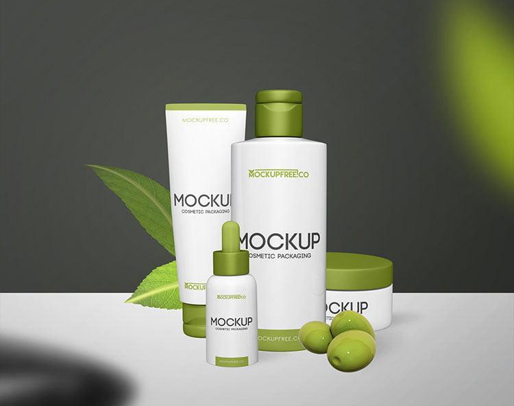 Download Free Packaging Cosmetic Mockup | Mockuptree