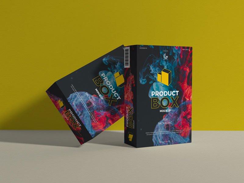 Download Free Product Box Mockups | Mockuptree