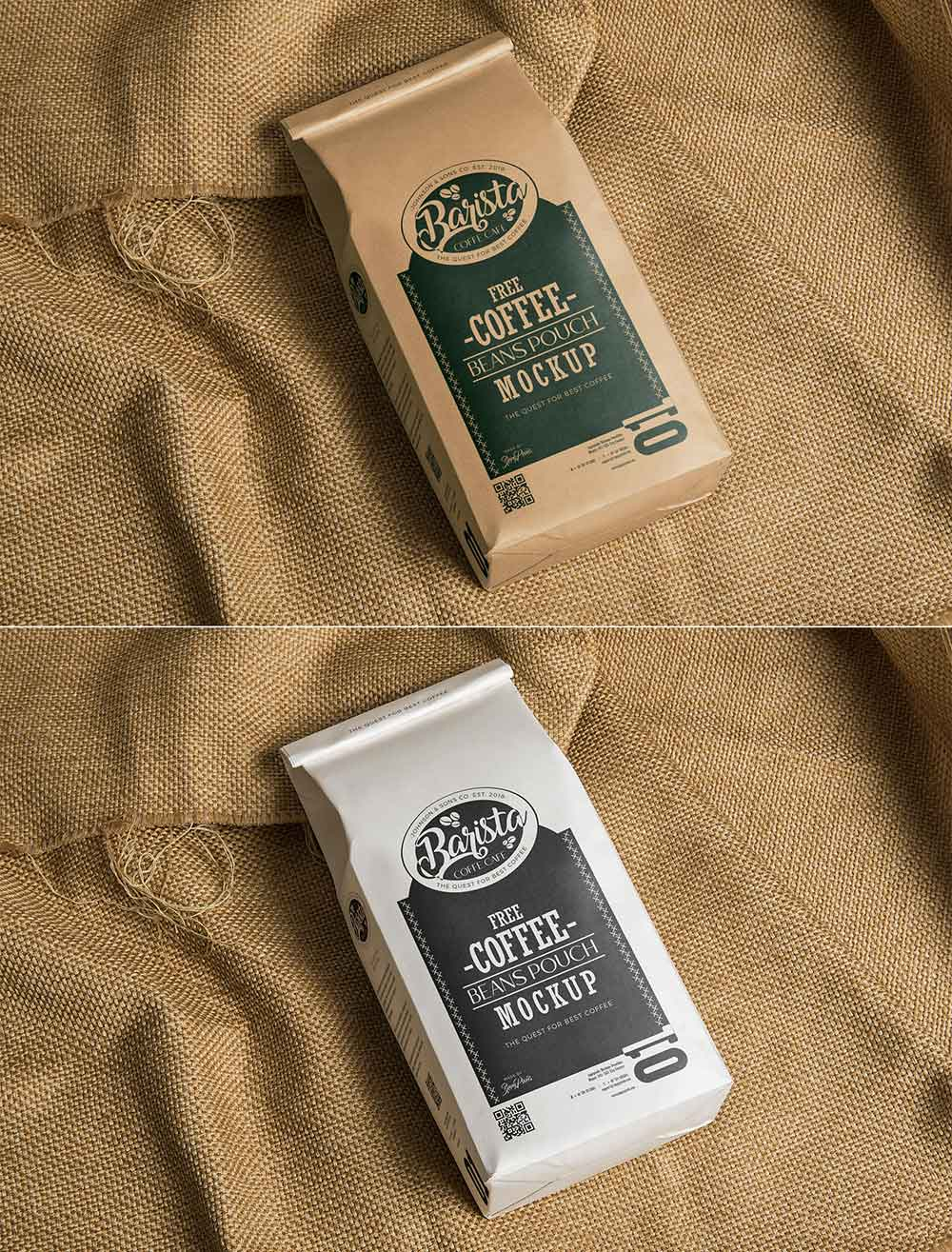 Download Free Coffee Bag Mockup | Mockuptree