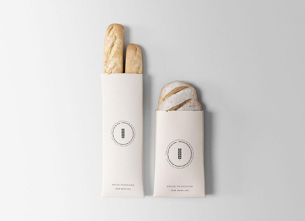 Download Free Bread Packaging Mockups | Mockuptree