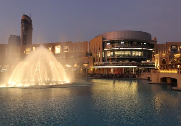 Dubai Mall Fountains show