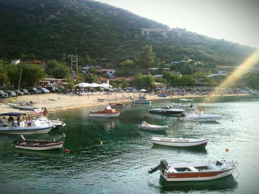 beautiful cove in Sykia, Halkidiki 8