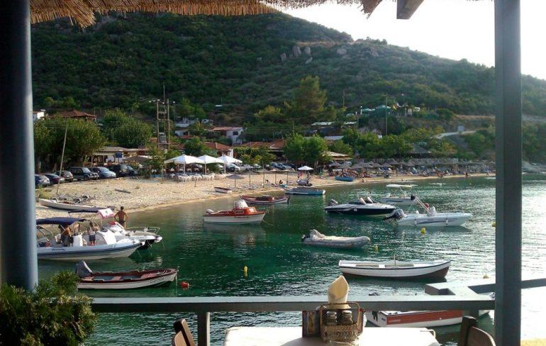 beautiful cove in Sykia, Halkidiki 6