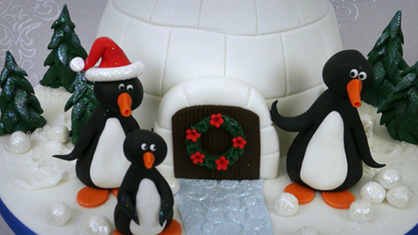 Decorating ideas for christmas cakes