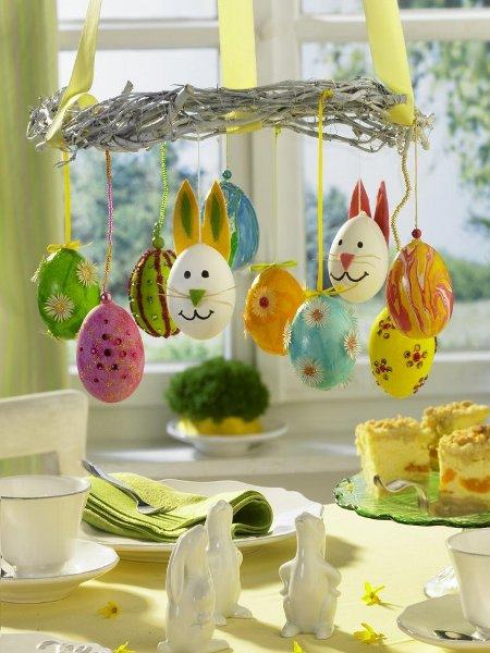 beautiful easter eggs decorating