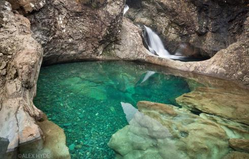 most beautiful natural pools Fairy Pools, Scotland