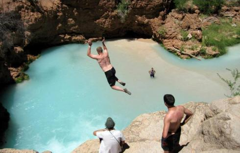 most beautiful natural pools Havasu Falls, Supai, Arizona 2