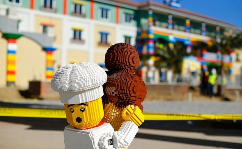unique hotel made of lego in US