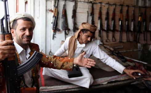 Sana'a, Yemen world's most dangerous countries