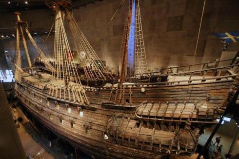 The Vasa  shipwreck, Vasa Museum, Stockholm, Sweden