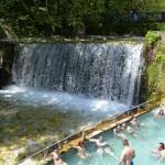 hot springs Loutra Pozar , Aridaia Greece