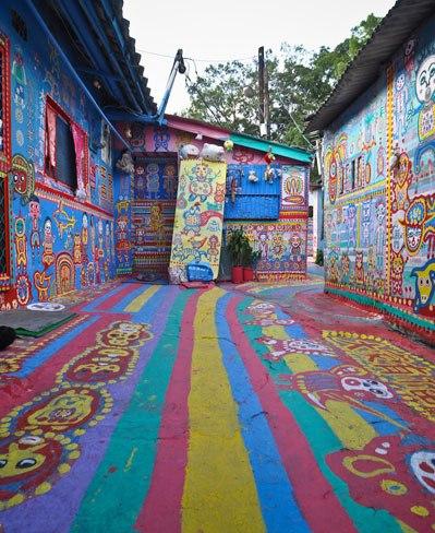 Taichung, Taiwan's colorful village 3