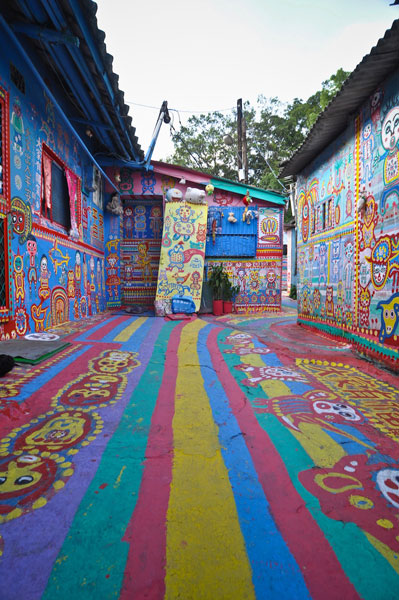 Taichung, Taiwan's colorful village 3