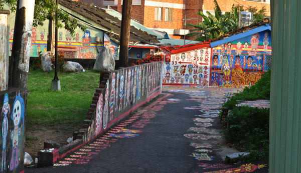 Taichung, Taiwan's colorful village 2