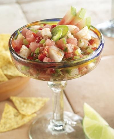 easy and refreshing watermelon pico de gallo