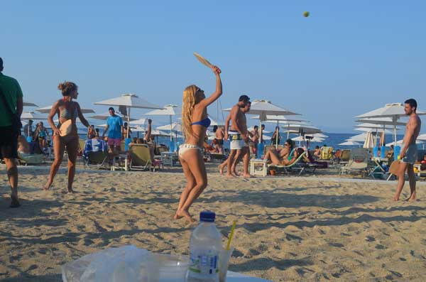 Greece Halkidiki akti oneirou best beach bars 3
