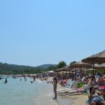 Greece Halkidiki Paliouri beach best beach bars Lefki Ammos 4