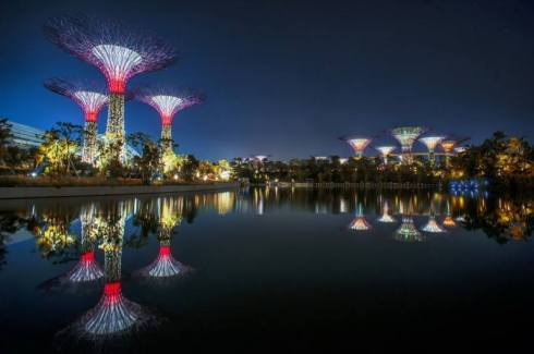 best attractions in Singapore, Bay Gardens