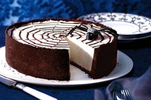 Easy and cute halloween cheesecake recipe