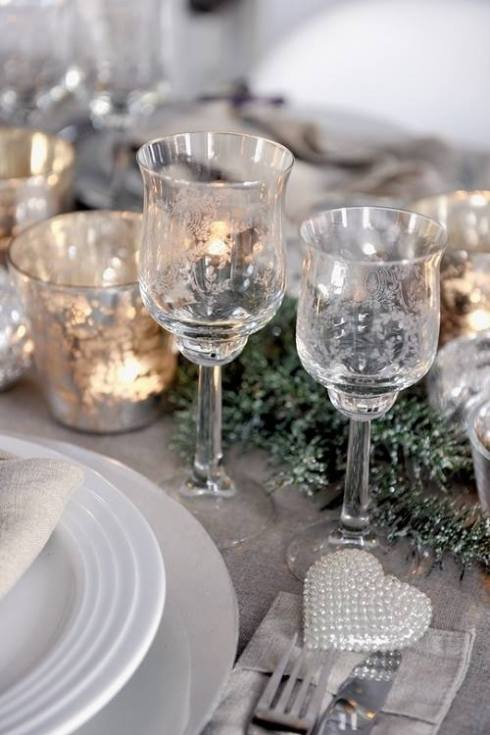 most creative christmas table decor ideas 45