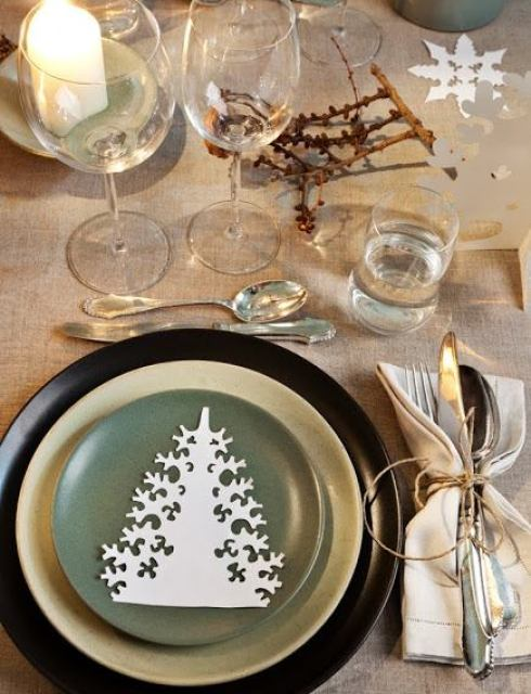 most creative christmas table decor ideas 29