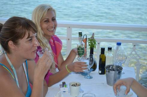 Traditional Greek Drink ouzo