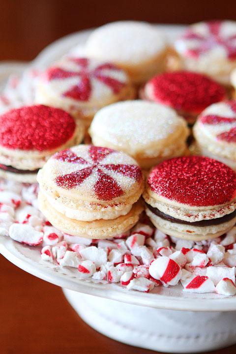 Best christmas macarons treats