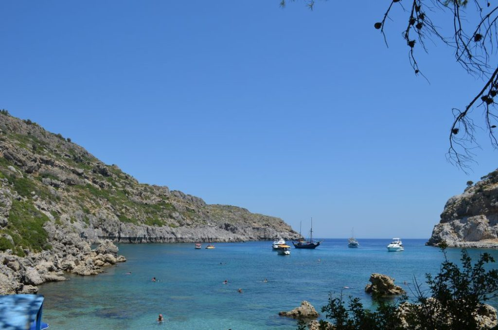 Best beaches of the Greek island Rhodes, Anthony Quinn 5