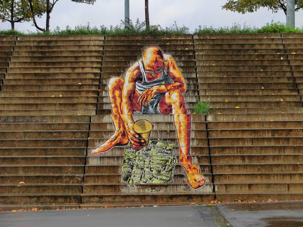nghệ thuật đường phố cầu thang tuyệt vời trên khắp thế giới, Berlin, Đức