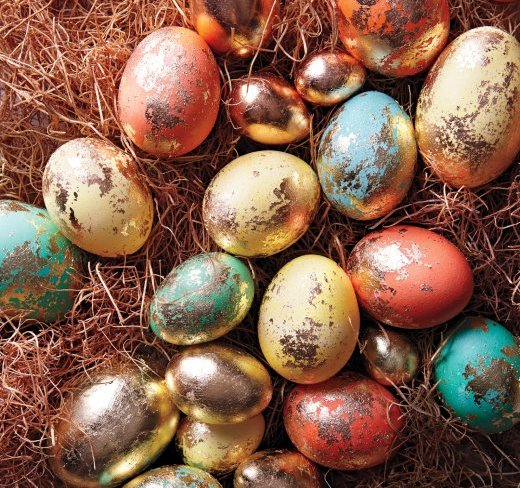 How to Make Golden Easter Eggs