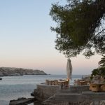 Best beaches of the Greek island Rhodes, amazing view of Kallithea beach 5