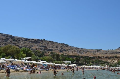 Lindos, best places to visit in Rhodes 3