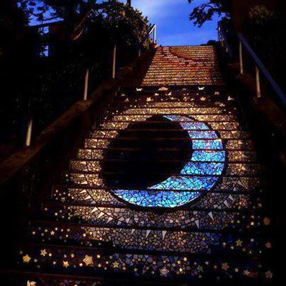 nghệ thuật đường phố cầu thang tuyệt vời trên khắp thế giới, San Francisco 3