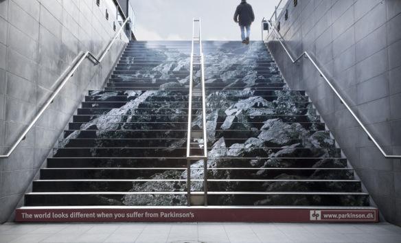 nghệ thuật đường phố cầu thang tuyệt vời trên khắp thế giới, Đan Mạch