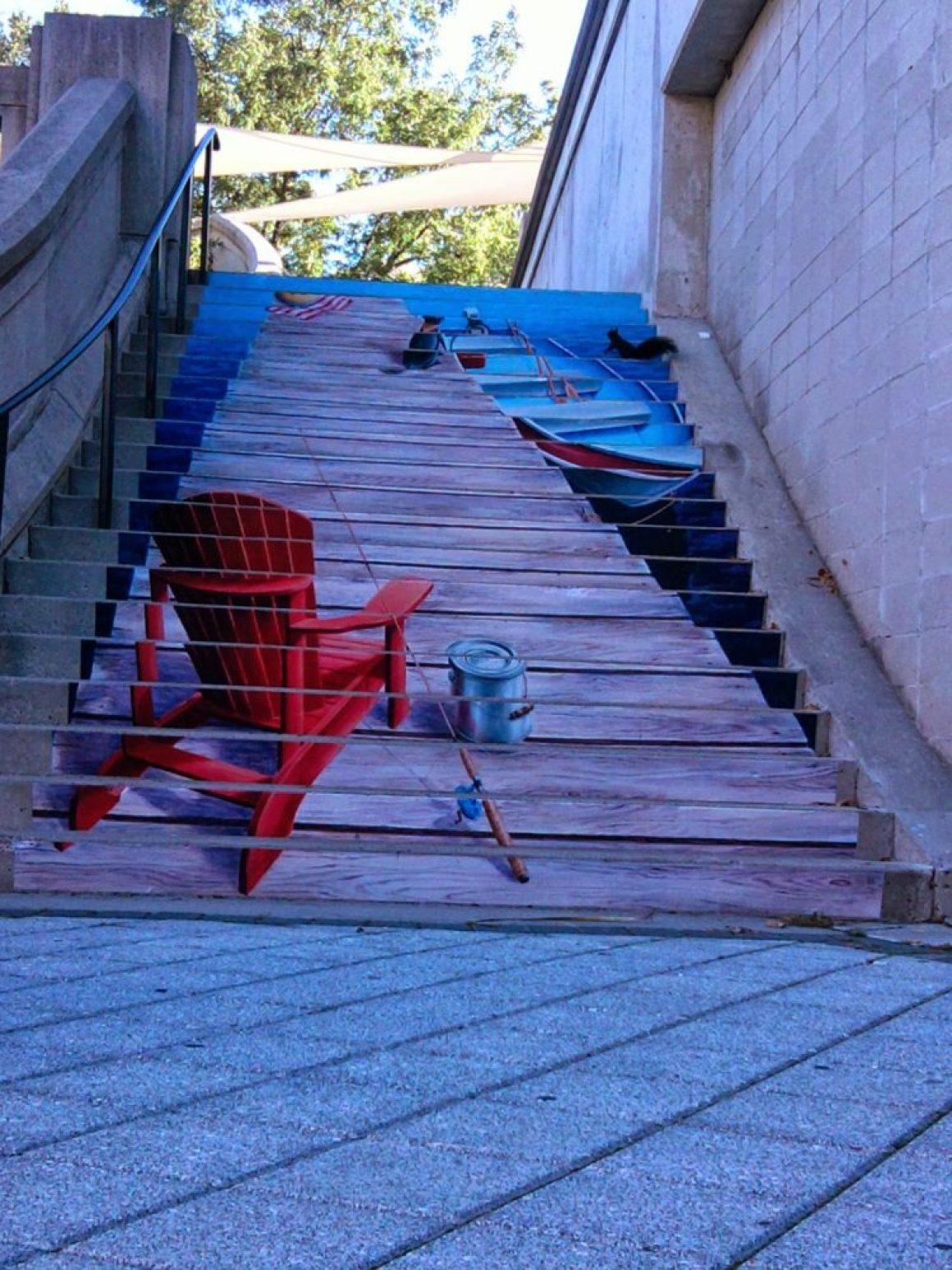 nghệ thuật đường phố cầu thang tuyệt vời trên khắp thế giới, Ottawa - Canada-3