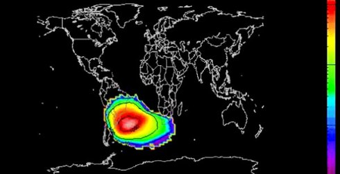mysterious and unexplained phenomena,South Atlantic Anomaly