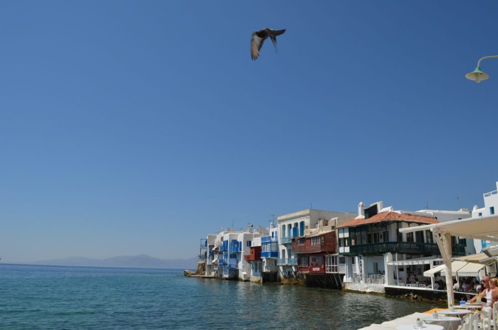 interesting things to see in Greek island Mykonos, view of Little Venice