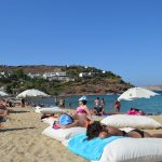 interesting things to see in Greek island Mykonos, Panormos beach 6